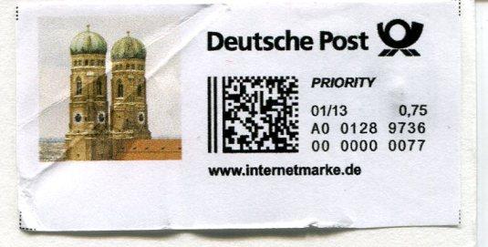Germany - Bayreuth postage