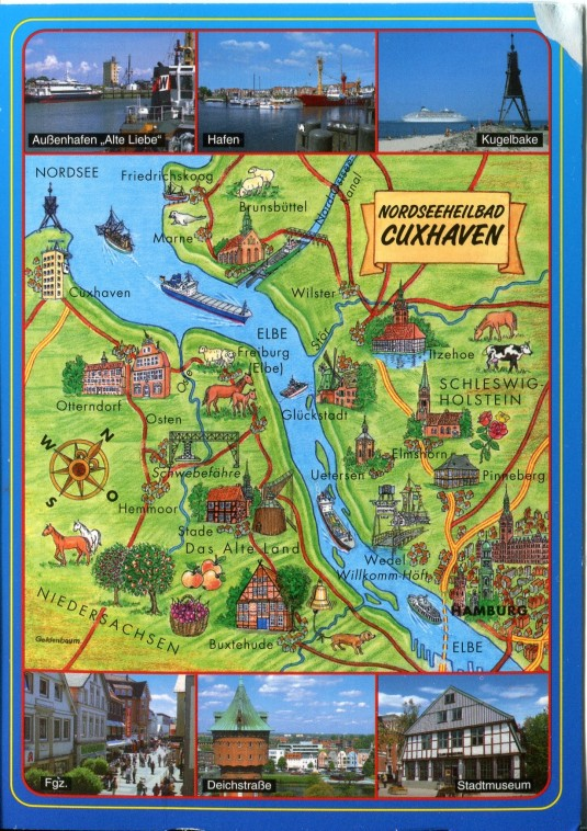 Germany - Cuxhaven Map