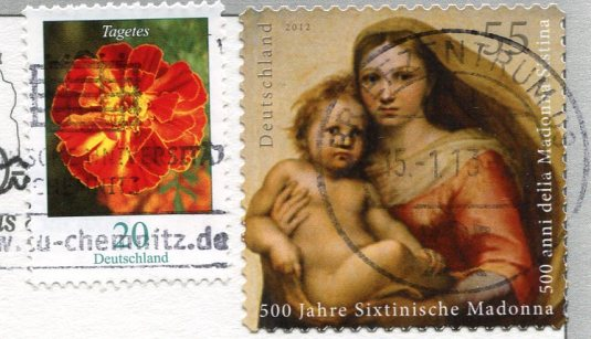 Germany - Farmhouse Parlor stamps