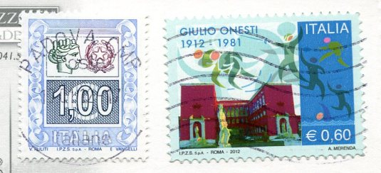 Italy - Venice Canal Boats stamps