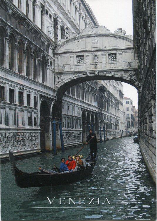 Italy - Venice Canal Boats