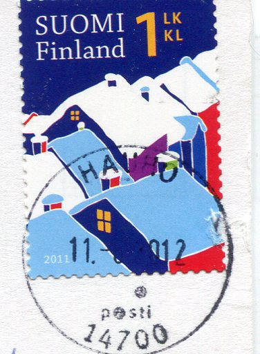 Latvia - Knitted Socks stamps of Finland