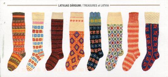 Latvia - Knitted Socks