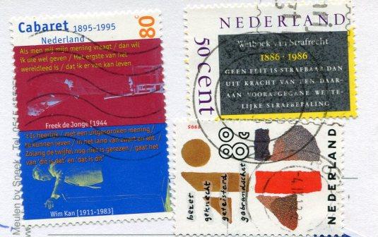 Netherlands - Strandgroet stamps