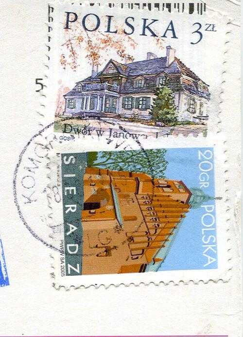 Poland - Gaski Lighthouse stamps