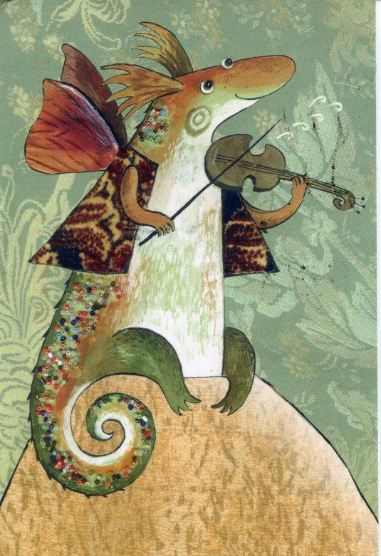 Russia - Daria - Spring violins