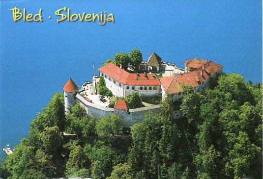 Slovenia - Bled Castle