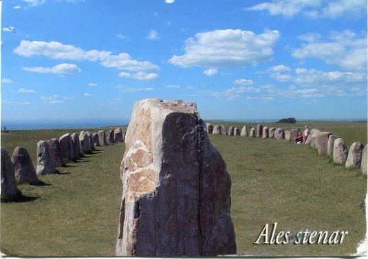 Sweden - Ales stenar
