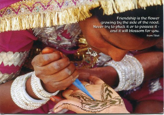 Tibet - Henna Painting