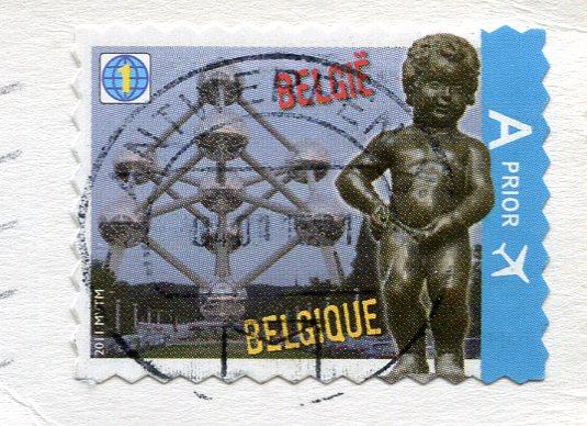 UK - London Bridge stamps of Belgium