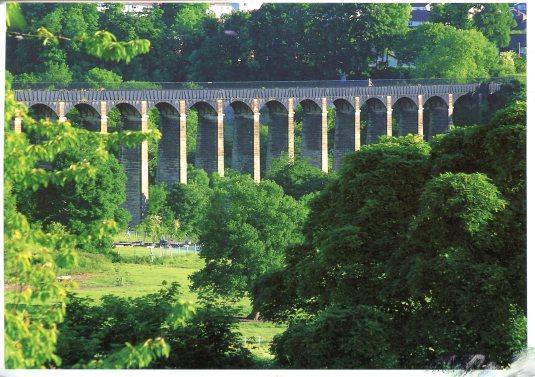 UK - Pontcysylite Aqueduct