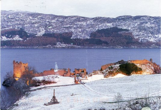 UK - Urquhart Castle and Loch Ness