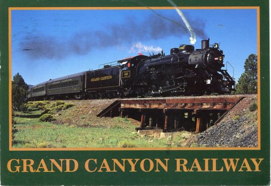 USA - Arizona - Grand Canyon Railway