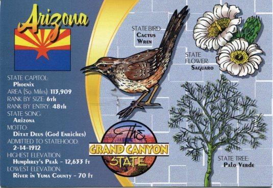 USA - Arizona - State Facts