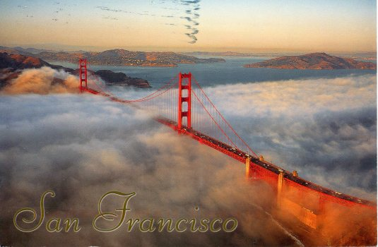 USA - California - Golden Gate Bridge