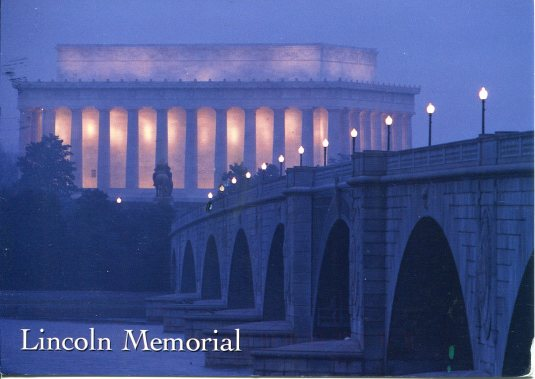 USA - DC - Lincoln Memorial Night