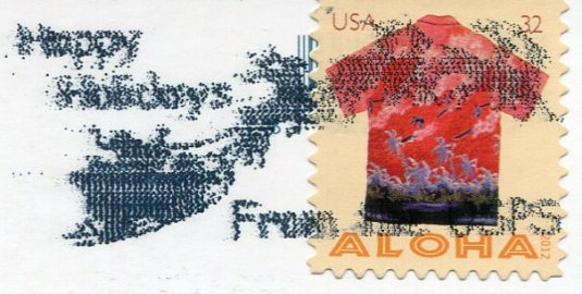 USA - Florida - Anhinga stamps