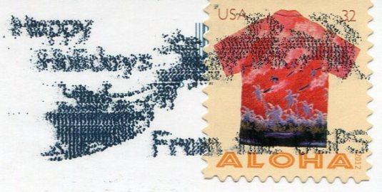 USA - Florida - Anhinga stamps