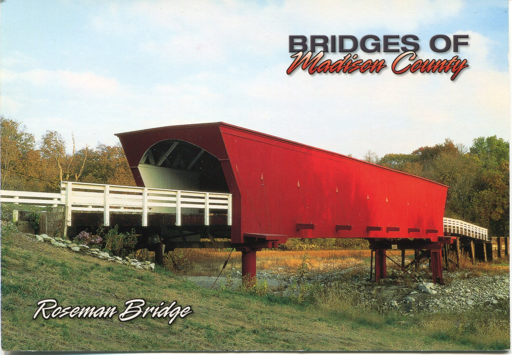 Cedar Covered Bridge, Winterset, Iowa без смс