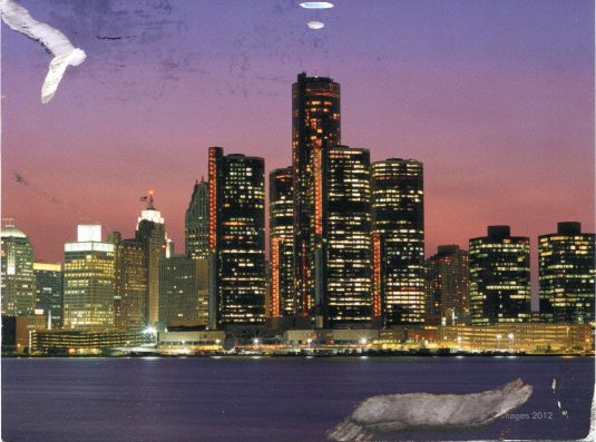 USA - Michigan - Detroit Skyline