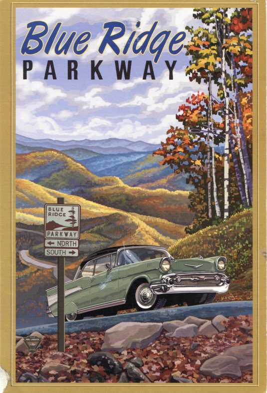 USA - Z - Blue Ridge Parkway