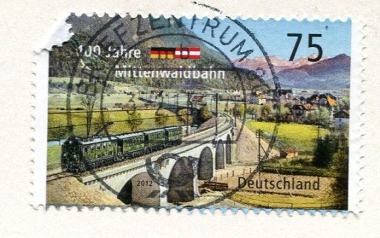Germany - Cat Grey Persian stamps