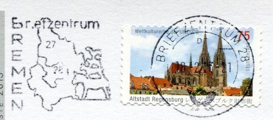 Germany - Sailors' Chapel stamps