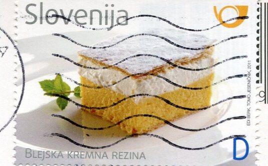 Slovenia - Ljubljana shilouhette stamps