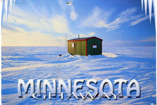 USA - Minnesota - Ice Fishing Shack