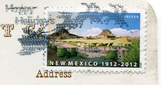 USA - New Mexico - Trading Post stamps