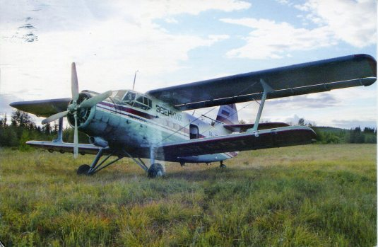 USA - Z - Russian biplane