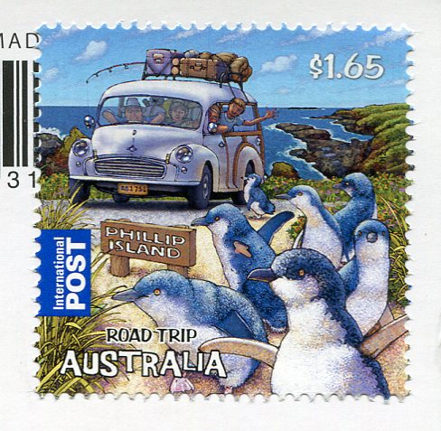 Australia - Brisbane aerial stamps