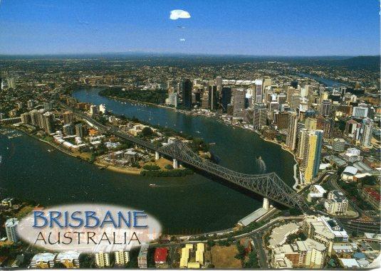 Australia - Brisbane aerial