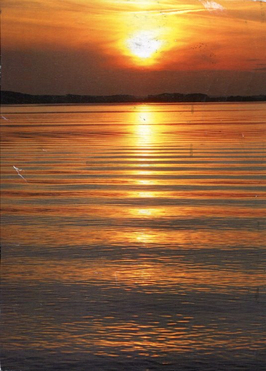 Belarus - Sunset on Water
