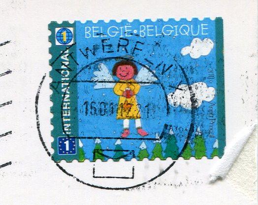Belgium - Hydrandgea stamps
