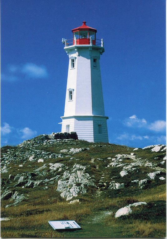 Canada - NS - Louisbourg Lighthouse