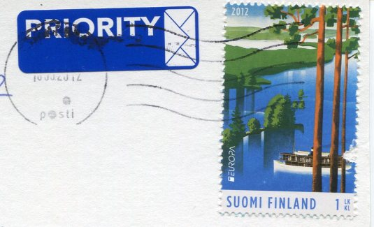 Finland - Mailboxes stamps
