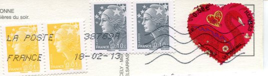 France - Carcassonne stamps