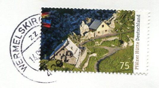 France - Cemetery Angel in Menton German stamps