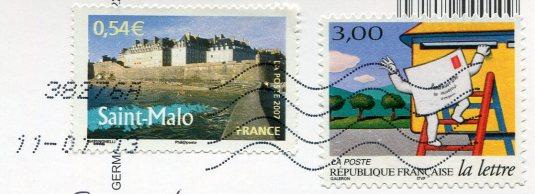 France - Letterbox stmaps