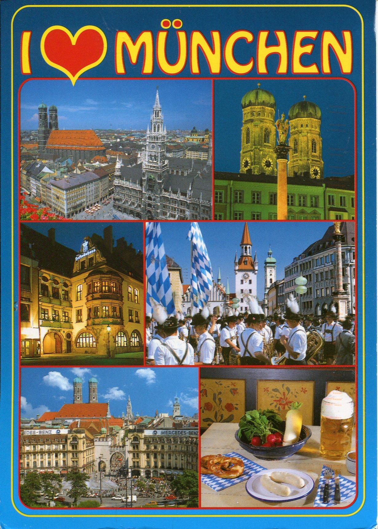 Поздравить маму, мюнхен открытка