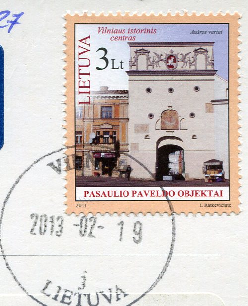 Lithuania - Vilnius stamps