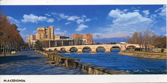 Macedonia - The Stone Bridge, Skopje