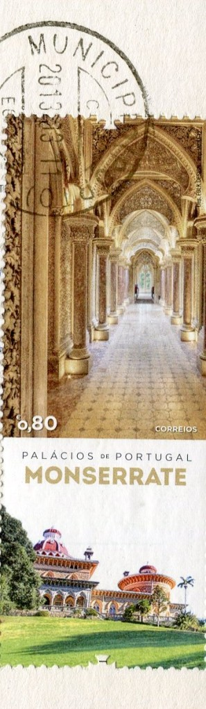 Portugal - Obidos Castle stamps