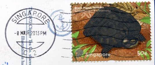 Singapore - Maps stamps