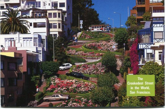 USA - California - Lombard Street