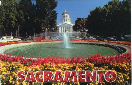 USA - California - Sacramento Capitol
