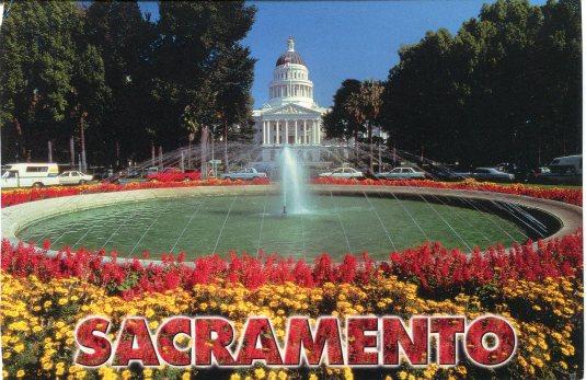 USA - California - Sacramento Capitol