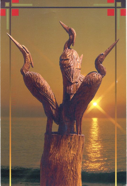 USA - Mississippi - Hurrican Katrina Tree Sculpture