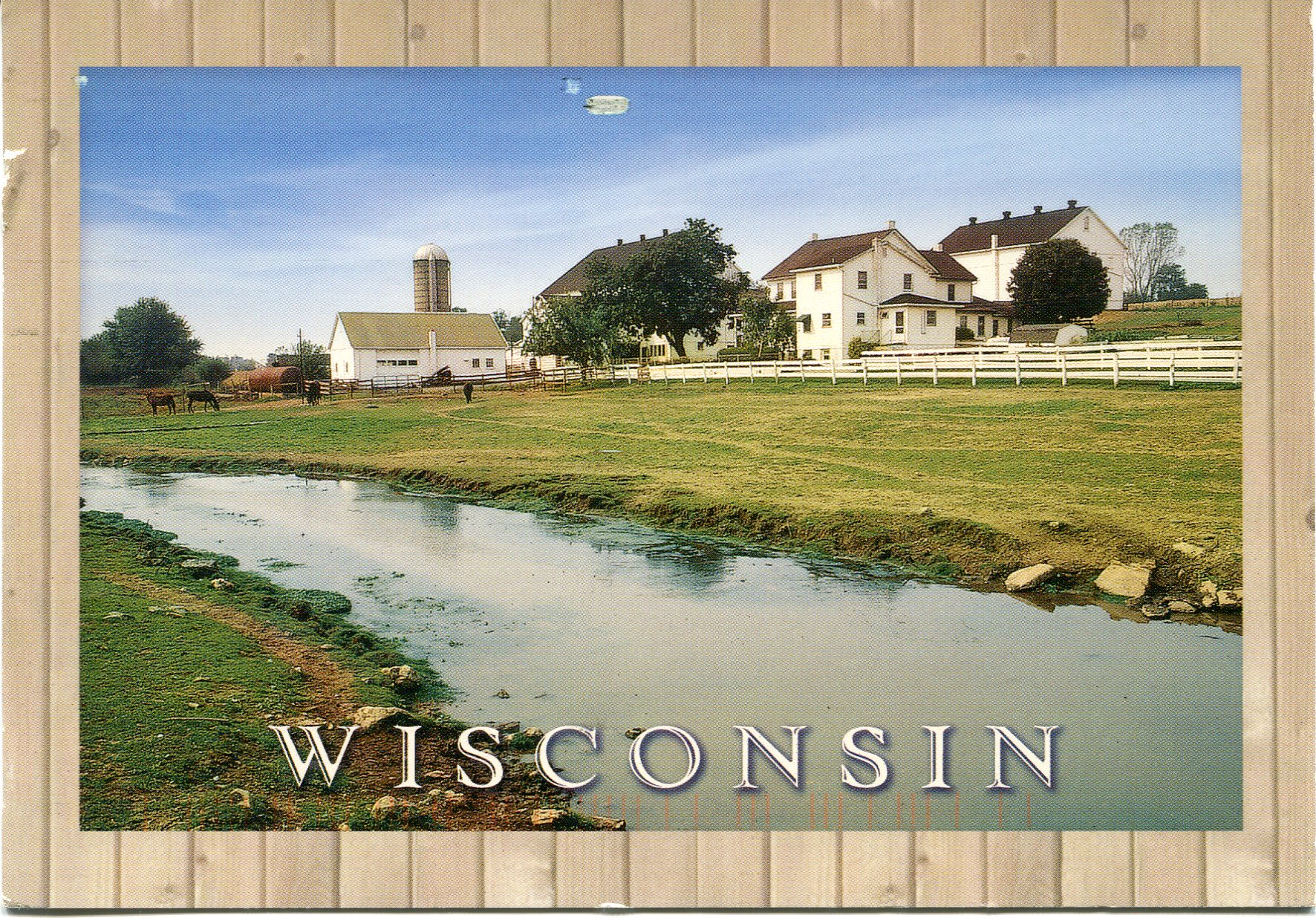 By writing letters amp postcards in cards received usa wisconsin